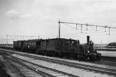 Spoorweg Winkel Ns